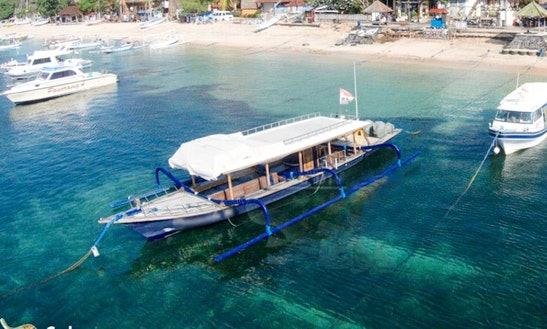 Paramitha Iii Snorkeling And Fishing Tour In  Bali Indonesia