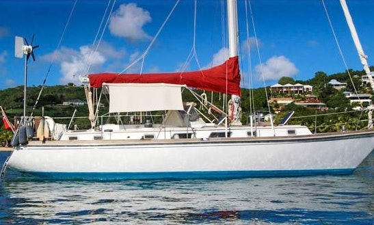 Sailing Charter On 41' Bristol Cruising Monohull In Jolly Harbour, Antigua
