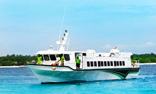 Fast Boat Trips For 66 People From Bali To Gili Trawangan And Teluk Nara Lombok Island