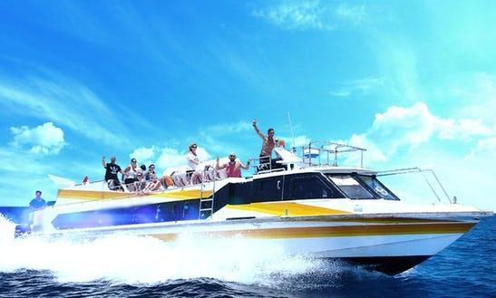 Luxury Fast Boat Rides For 80 Person In Bali, Indonesia