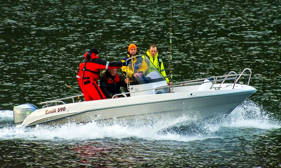 Let's go Fishing in Troms, Norway on Emili Center Console for up to 4 angler