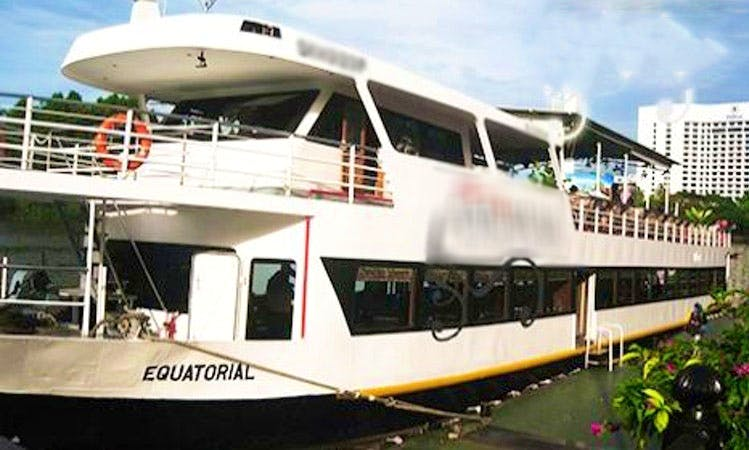 River Cruise in Kuching Sarawak, Malaysia