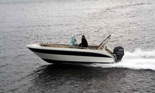 Enjoy Fishing In Troms, Norway On Center Console