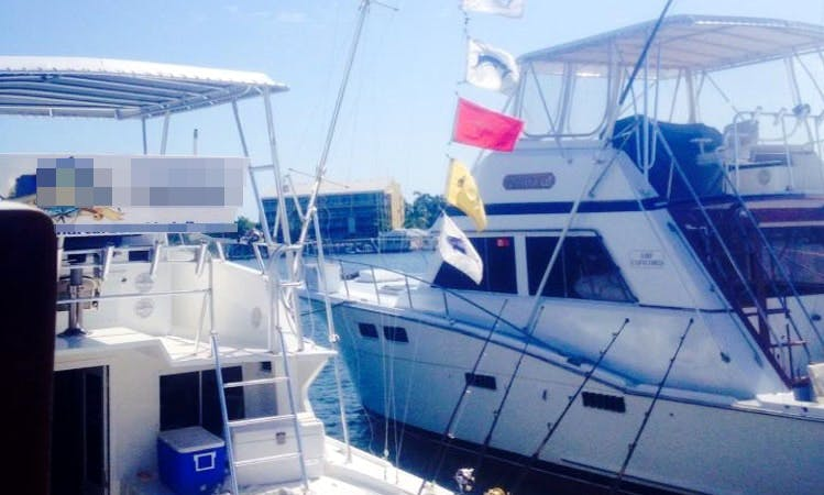 "Fishing Charter on 40ft ""Linda D IV"" Yacht in Key West, Florida"
