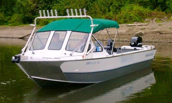 26' Sport Fisherman Charter In Portland, Oregon
