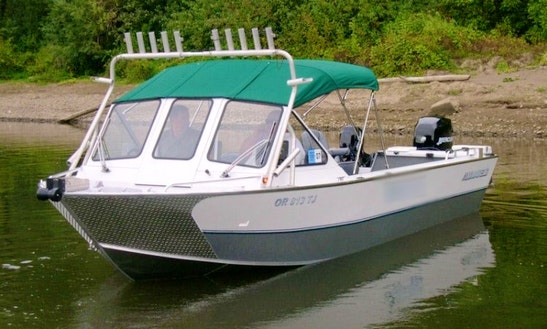 26' Sport Fisherman Charter In Portland, Oregon