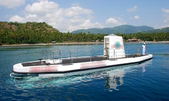 Submarine Tour In Manggis, Indonesia