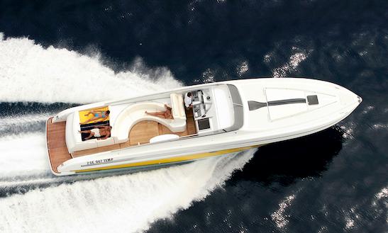 52ft Cherro Motor Yacht Rental In Santa Margherita Ligure, Italy