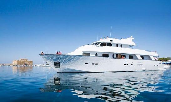 Enjoy Vip Cruise In Paphos, Cyprus On Ocean Flyer Passenger Boat
