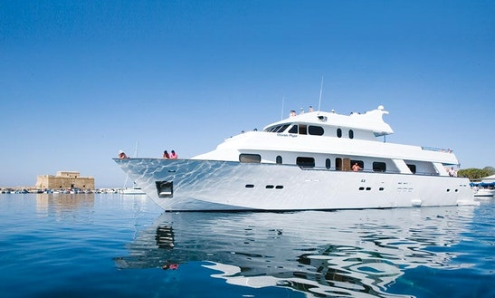 Enjoy Vip Cruise In Paphos, Cyprus On Ocean Flyer Passenger Boat