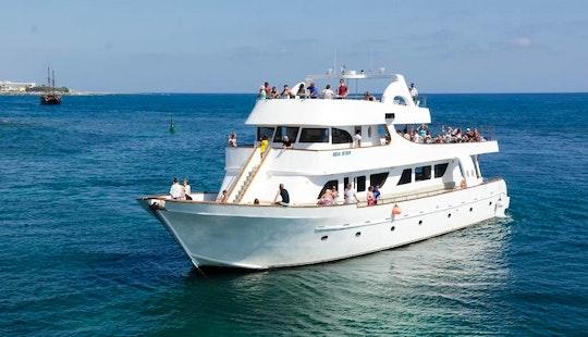 Enjoy Cruising In Paphos, Cyprus On Sea Star Passenger Boat