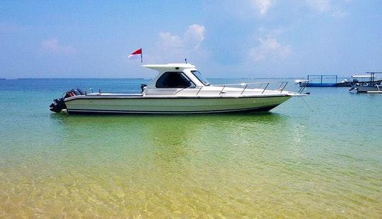 Cuddy Cabin Fishing Charter In Bali