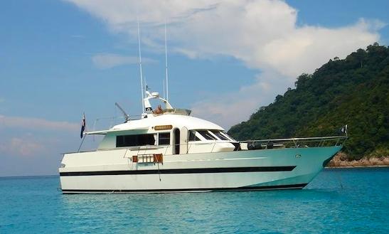 Charter 52' Mabilia Power Mega Yacht In Muang Pattaya, Thailand