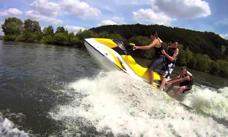 Jet Ski Rental and Tour on Ķīšezers Lake in Riga, Latvia