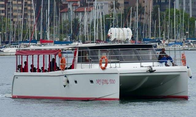 Charter My Girl Too Power Catamaran in Durban, South Africa