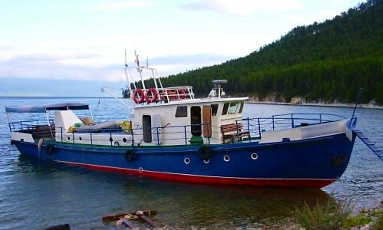 """""""Nikola"""" Trawler Charters in Lake Baikal, Russia"""