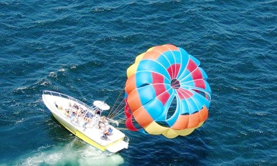 Most Memorable Parasailing Experience In Destin, Florida