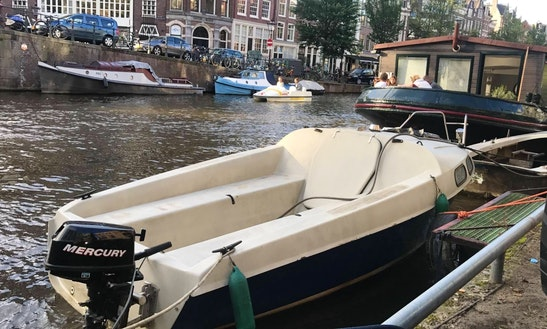 Canal Boat For Rent In Amsterdam