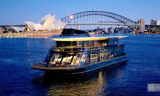 Experience Sydney Harbour On 'starship Sydney' Glass Party Boat