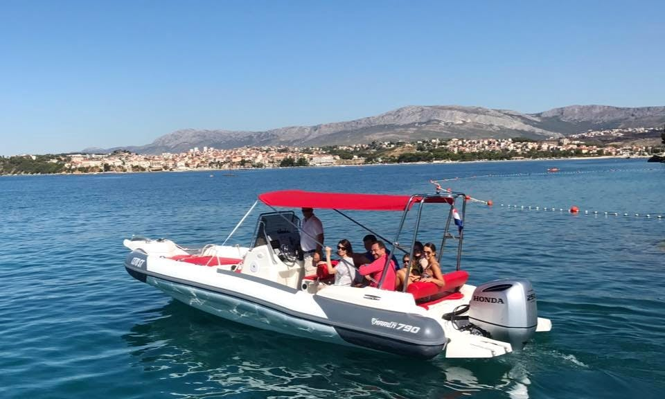 Brac and Solta Islands - Half Day Boat Trip from Podstrana or Split