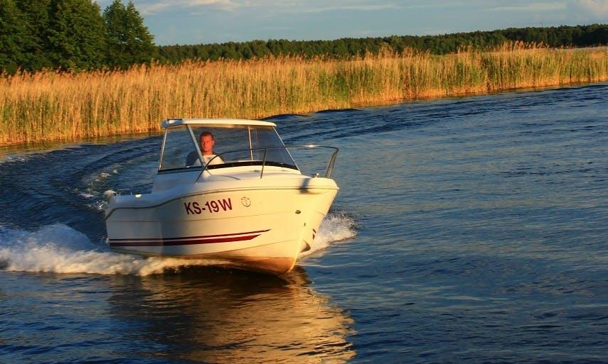 Charter 16' Cortina 480 Cuddy Cabin in Wilkasy, Poland