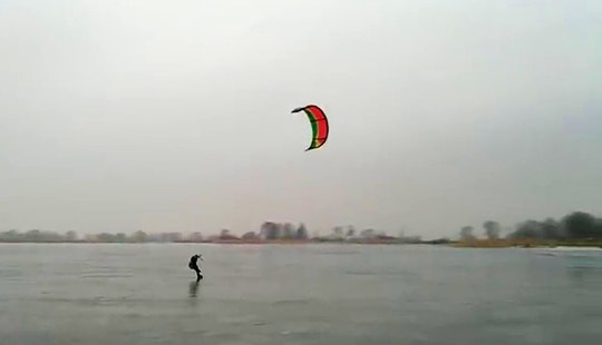 Enjoy Kitesurfing In Wilkasy, Poland