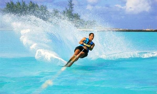 Enjoy Water Skiing In Flacq, Mauritius