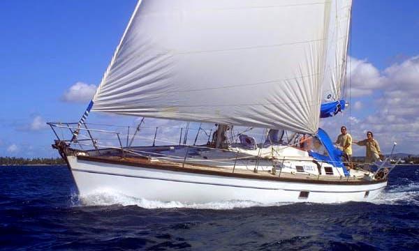 Charter 44' Neptune 135 Cruising Monohull in Trou-aux-Biches, Mauritius