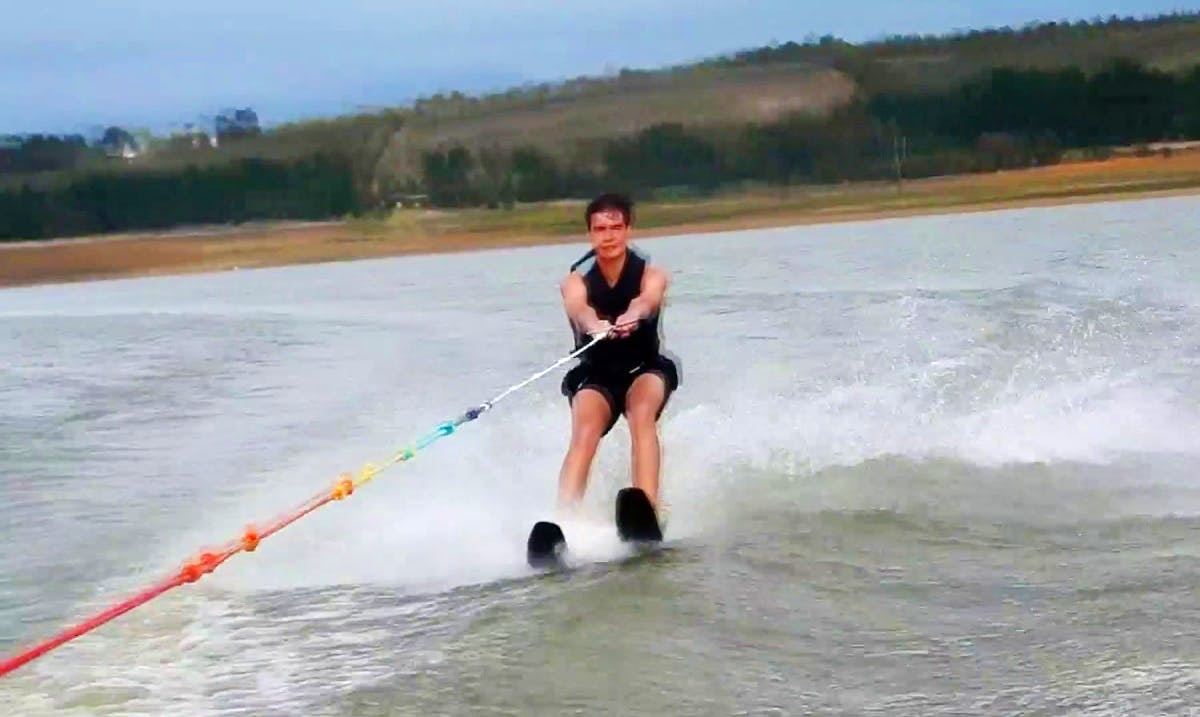 Water Skiing in Vereeniging, South Africa