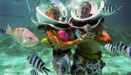 Enjoy Sea Walking In Trou D'eau Douce, Mauritius