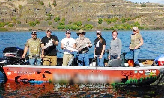 Guided Fishing Trips With Captain Mike In Columbia River