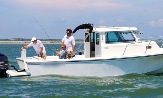 25ft Parker 2520 Xl Sport Cabin Sport Fisherman Charter In Piermont