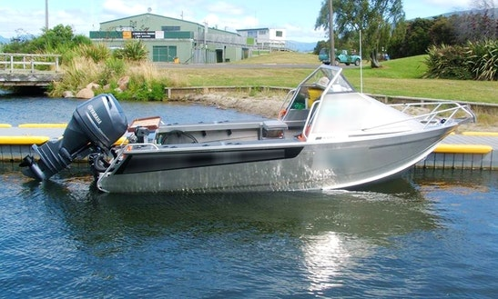 Enjoy Fishing In Turangi, New Zealand With Captain Mike