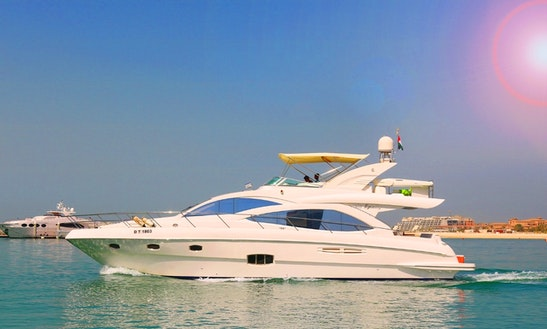 56ft Majesty Power Mega Yacht Charter In Dubai, Uae