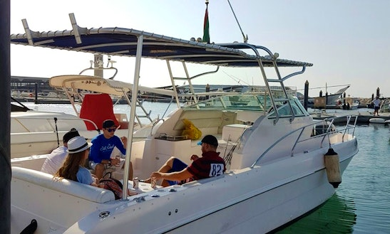 Fishing Charter On 34' Silver Craft Boat In Dubai, Uae