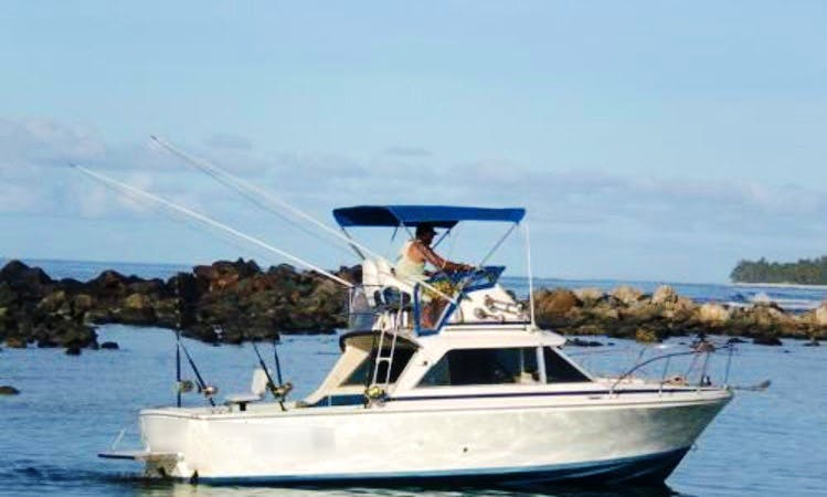 25' Fishing Charter In Cook Islands