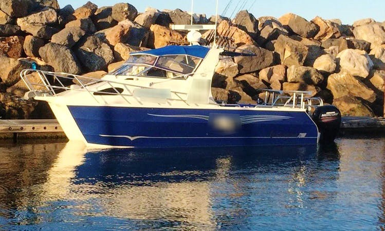 Enjoy Fishing in West Beach South, Australia with Captain Tom
