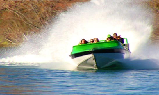 Exciting 60 Minute Jet Boat Rides On Clutha River