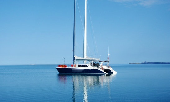 Enjoy 54' Catamaran Charter In Russell, Northland