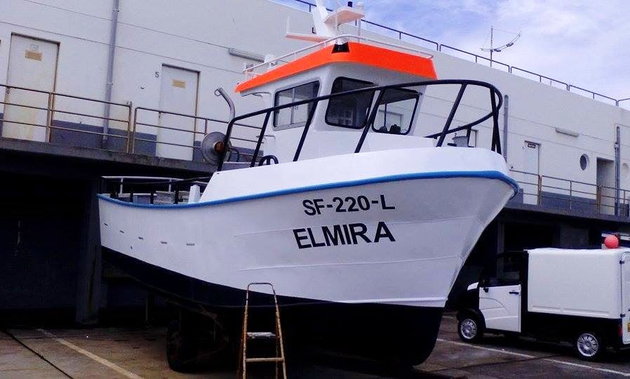 Enjoy Fishing in Santa Cruz das Flores, Portugal on Trawler