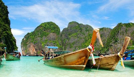 Traditional Thai Boat (phuket Thailand )