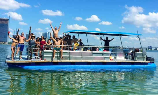 Party Pontoon For 16 Guests - Not Just 12 In Miami