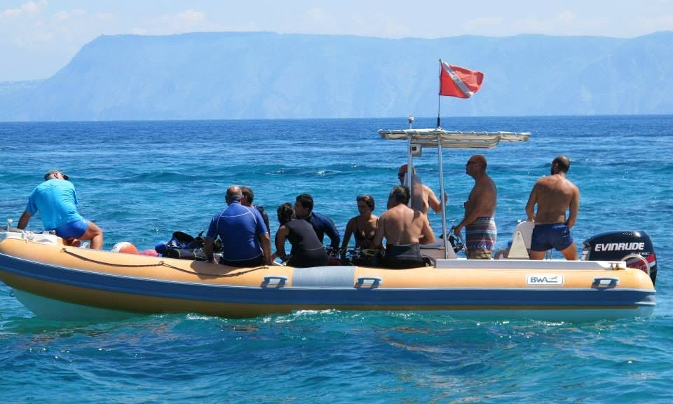 Enjoy Diving Trips and Courses in Messina, Sicilia