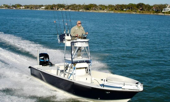 Fishing Charter On 24' Action Craft Coastal Bay Boat In Tampa, Florida