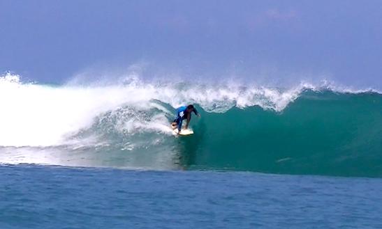 Enjoy Surfing In Kambera, Indonesia