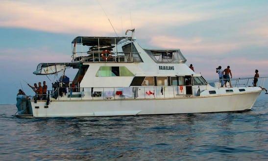 Enjoy Surf Charter In Padang, Indonesia On 66' Raja Elang Power Mega Yacht