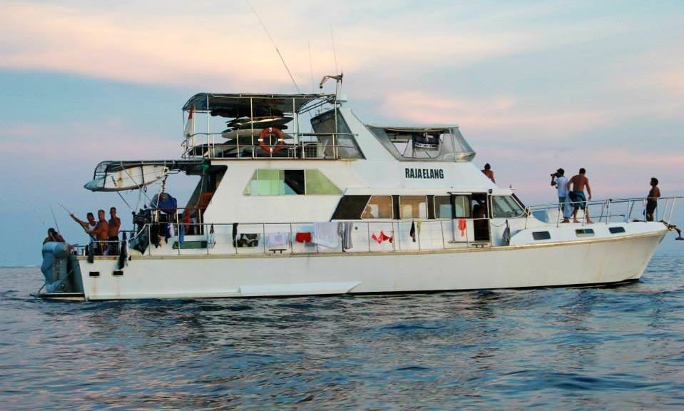 Enjoy Surf Charter in Padang, Indonesia on 66' Raja Elang Power Mega Yacht