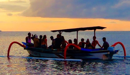 Enjoy Sunset Cruise In Abang, Bali