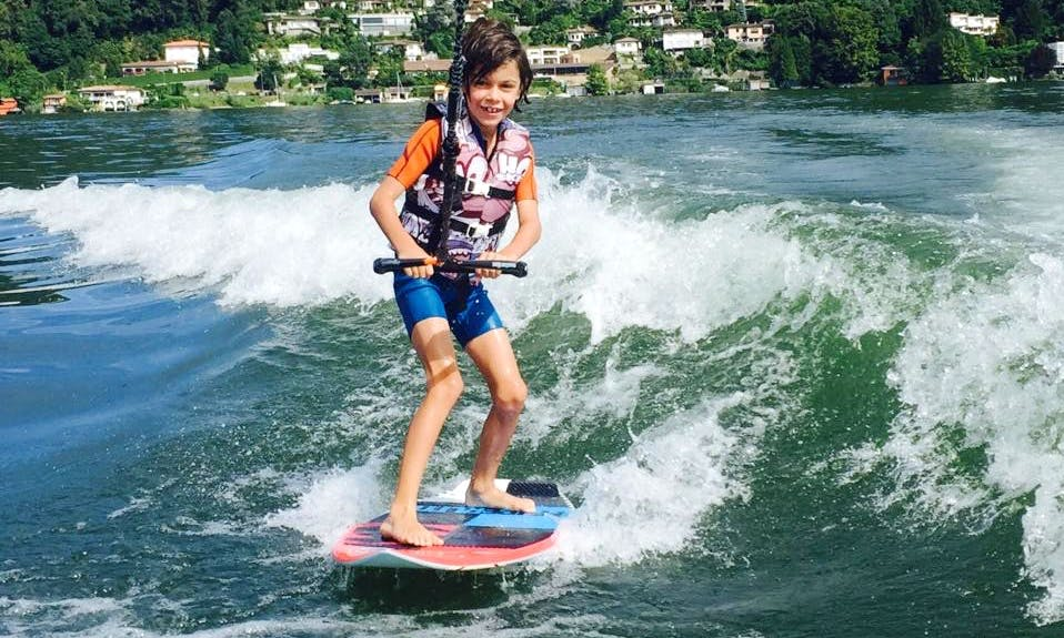 Enjoy Wakeboarding Lessons in Agno, Switzerland