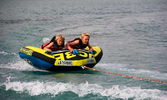 Enjoy Tube Rides In Agno, Switzerland